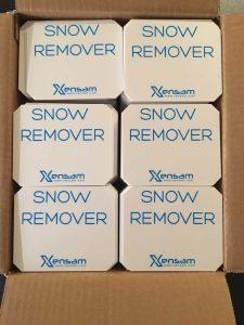Remove snow with Xensam